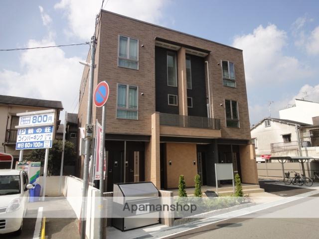 兵庫県宝塚市、売布神社駅徒歩14分の築4年 3階建の賃貸アパート