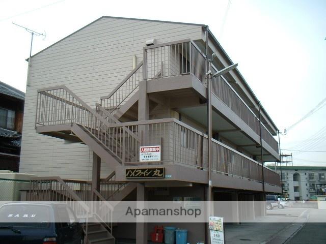 兵庫県西宮市、三田駅阪急バスバス27分上山口下車後徒歩4分の築28年 3階建の賃貸アパート