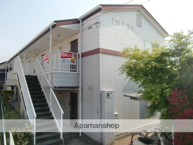 兵庫県宝塚市、中山寺駅徒歩5分の築23年 2階建の賃貸アパート