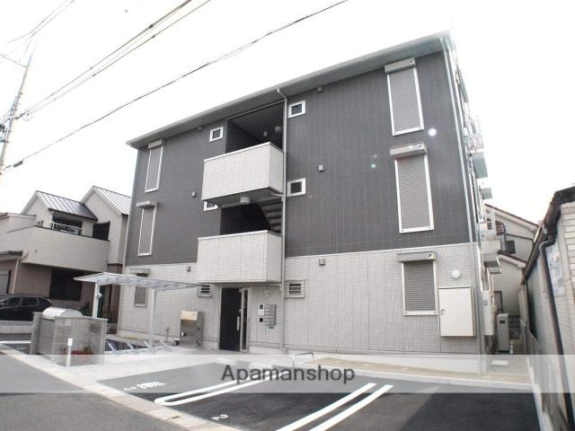 兵庫県伊丹市、伊丹駅伊丹市営バスバス20分鴻池東下車後徒歩2分の新築 3階建の賃貸アパート