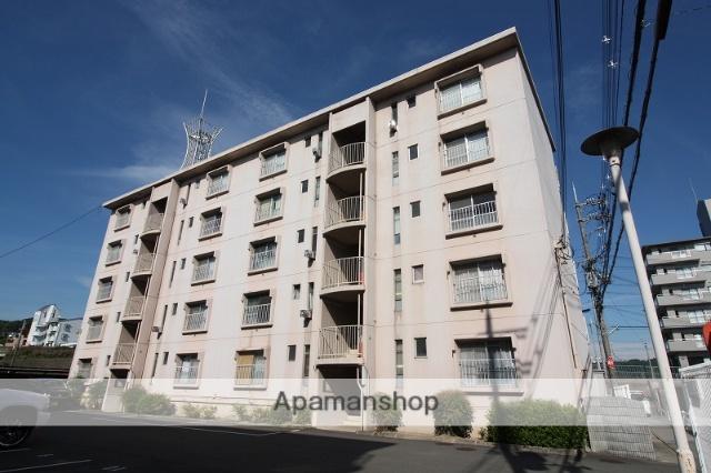 兵庫県三田市、三田駅徒歩5分の築39年 5階建の賃貸マンション