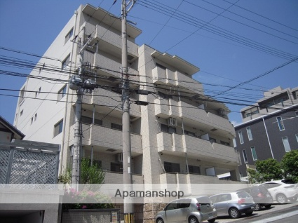 兵庫県神戸市灘区、六甲道駅徒歩10分の築21年 5階建の賃貸マンション