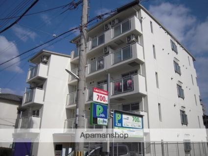 兵庫県神戸市灘区、六甲道駅徒歩5分の築29年 5階建の賃貸マンション
