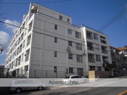 兵庫県神戸市灘区、六甲道駅徒歩11分の築48年 6階建の賃貸マンション