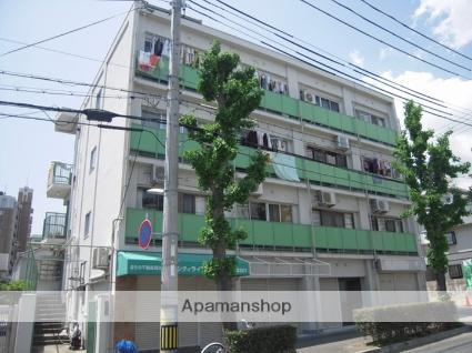 兵庫県神戸市灘区、大石駅徒歩6分の築38年 4階建の賃貸マンション