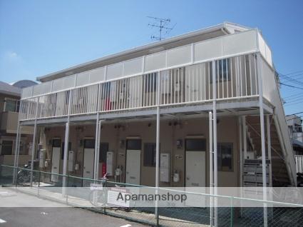 兵庫県神戸市灘区、六甲道駅徒歩16分の築26年 2階建の賃貸アパート