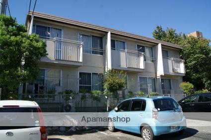 兵庫県神戸市灘区、六甲道駅徒歩21分の築32年 2階建の賃貸アパート