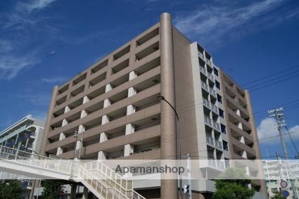 兵庫県神戸市灘区、摩耶駅徒歩10分の築19年 9階建の賃貸マンション