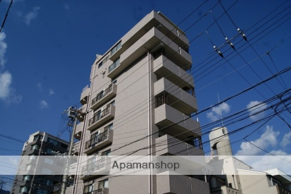 兵庫県神戸市灘区、六甲道駅徒歩12分の築18年 8階建の賃貸マンション