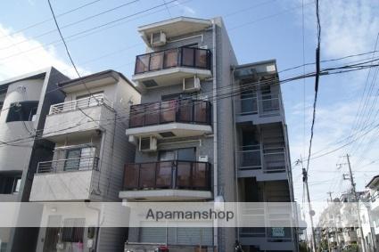 兵庫県神戸市灘区、六甲道駅徒歩9分の築18年 4階建の賃貸マンション