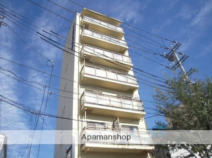 兵庫県神戸市灘区、六甲道駅徒歩8分の築27年 8階建の賃貸マンション