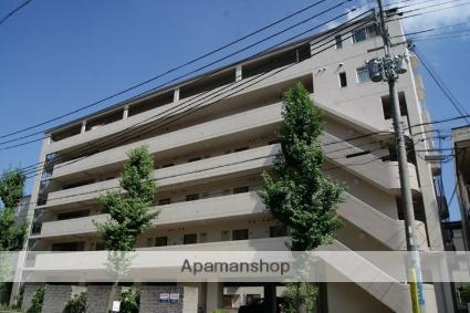 兵庫県神戸市灘区、摩耶駅徒歩3分の築25年 6階建の賃貸マンション