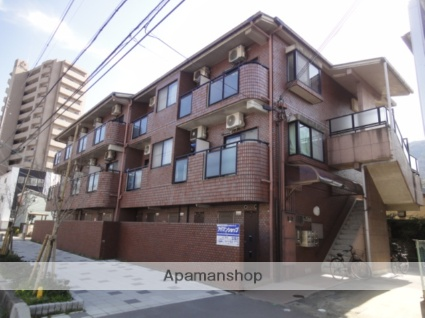兵庫県西宮市、宝塚駅徒歩7分の築25年 3階建の賃貸マンション