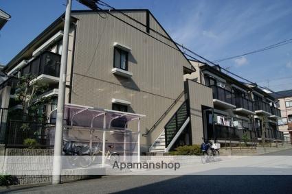 兵庫県神戸市灘区、六甲道駅徒歩9分の築20年 2階建の賃貸アパート