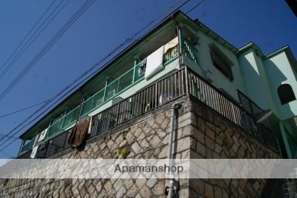 兵庫県神戸市灘区、六甲道駅徒歩17分の築49年 2階建の賃貸アパート