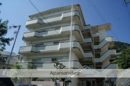 兵庫県神戸市灘区、六甲道駅徒歩26分の築28年 5階建の賃貸マンション