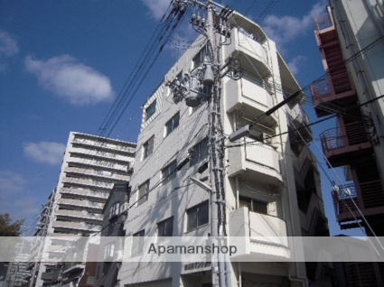 兵庫県神戸市灘区、灘駅徒歩13分の築37年 5階建の賃貸マンション