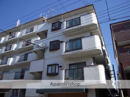 兵庫県神戸市灘区、六甲駅徒歩10分の築34年 4階建の賃貸マンション
