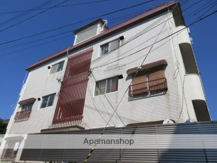 兵庫県神戸市灘区、灘駅徒歩17分の築28年 3階建の賃貸マンション