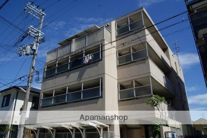 兵庫県神戸市東灘区、住吉駅徒歩18分の築28年 4階建の賃貸マンション