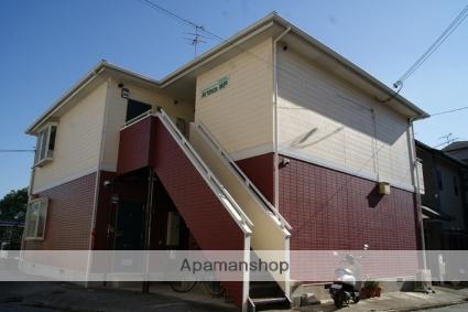 兵庫県神戸市灘区、灘駅徒歩10分の築20年 2階建の賃貸アパート