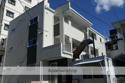 兵庫県神戸市東灘区、六甲道駅徒歩14分の新築 3階建の賃貸アパート