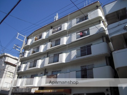兵庫県神戸市灘区、六甲道駅徒歩20分の築41年 5階建の賃貸マンション