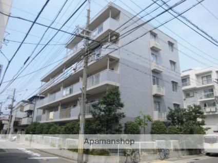 兵庫県神戸市灘区、六甲道駅徒歩13分の築18年 5階建の賃貸マンション