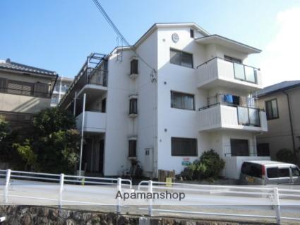 兵庫県神戸市灘区、六甲道駅徒歩20分の築27年 3階建の賃貸マンション