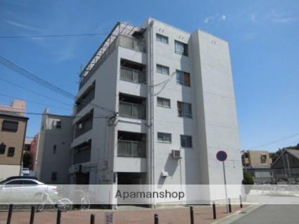 兵庫県神戸市灘区、灘駅徒歩5分の築43年 5階建の賃貸マンション