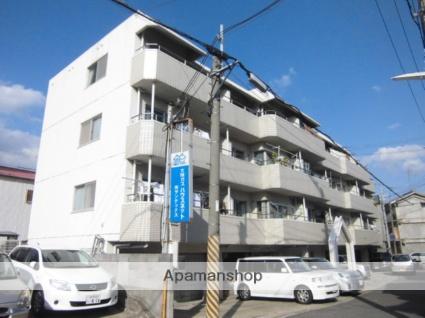 兵庫県神戸市灘区、摩耶駅徒歩7分の築28年 4階建の賃貸マンション