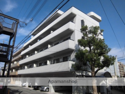 兵庫県神戸市灘区、灘駅徒歩6分の築27年 5階建の賃貸マンション