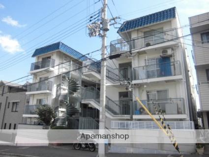 兵庫県神戸市灘区、灘駅徒歩8分の築38年 4階建の賃貸マンション