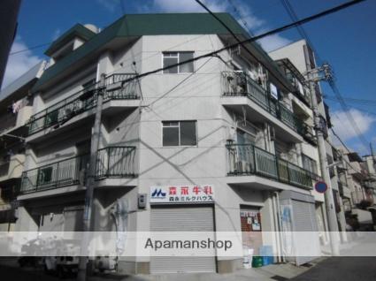 兵庫県神戸市灘区、六甲道駅徒歩11分の築43年 3階建の賃貸マンション