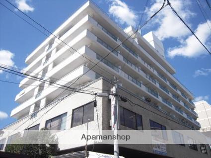兵庫県神戸市灘区、灘駅徒歩3分の築42年 8階建の賃貸マンション
