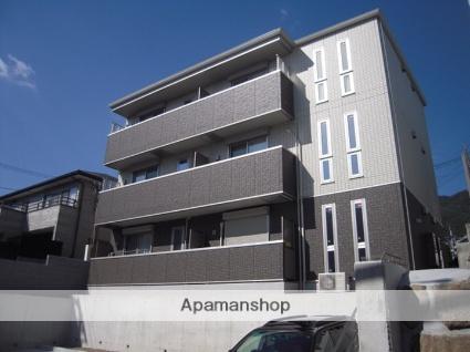 兵庫県神戸市灘区、灘駅徒歩18分の築2年 3階建の賃貸アパート