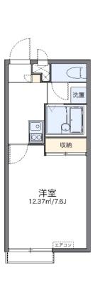 レオパレスルーエ長田[1K/23.18m2]の間取図