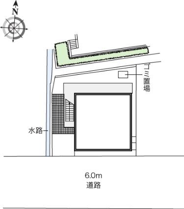 レオパレスNorth六甲[1K/20.28m2]の内装1