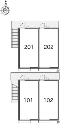レオパレスNorth六甲[1K/20.28m2]の内装2