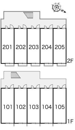 レオパレスアプリコット片山[1K/19.87m2]の内装2