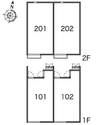 レオネクストハイツ五位ノ池Ⅰ[1K/21.08m2]の内装2