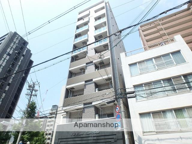 兵庫県神戸市中央区、三ノ宮駅徒歩11分の新築 10階建の賃貸マンション