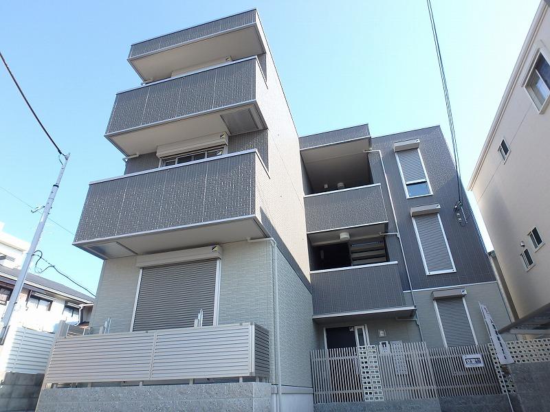 兵庫県神戸市中央区、春日野道駅徒歩6分の新築 3階建の賃貸アパート