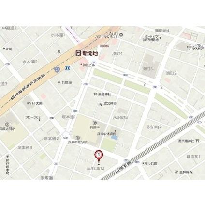 兵庫県神戸市兵庫区三川口町2丁目[1K/24.22m2]のその他内装5