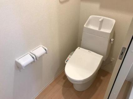 ソレイユ清元[1K/33.67m2]のトイレ