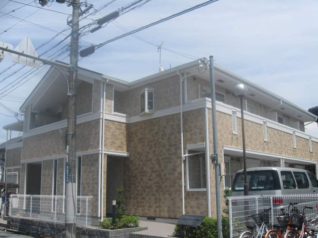 兵庫県三木市、緑が丘駅バス10分緑が丘中3丁目下車後徒歩2分の築13年 2階建の賃貸アパート