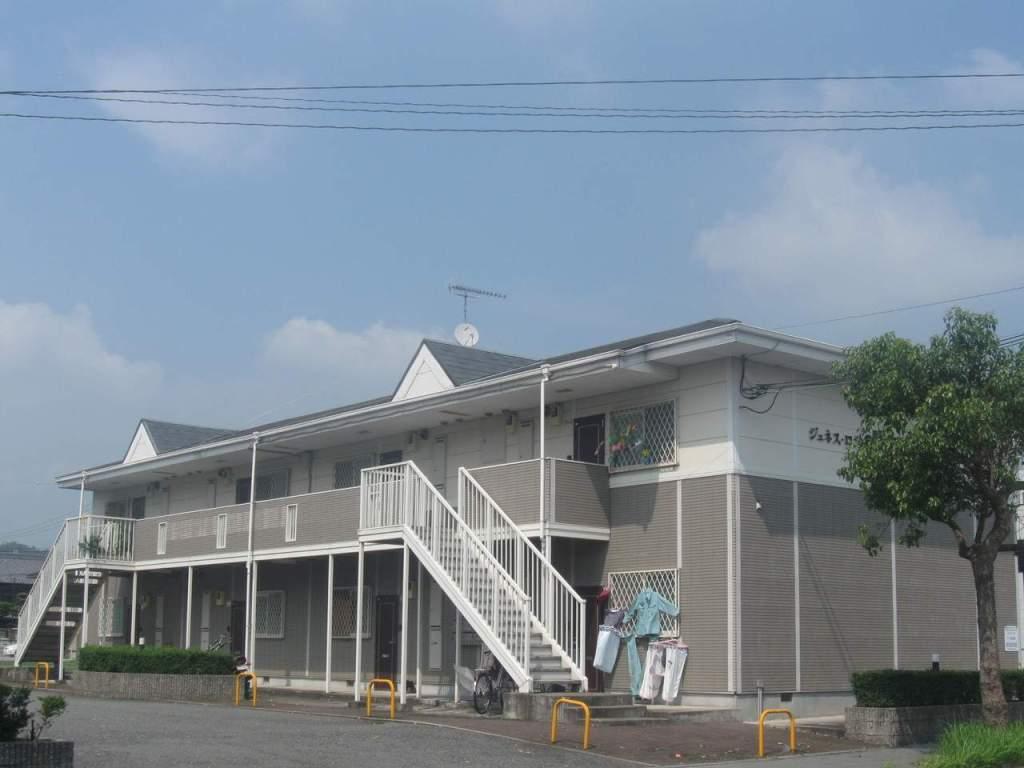 兵庫県三木市、大村駅徒歩10分の築21年 2階建の賃貸アパート