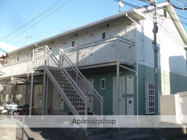 兵庫県三木市、緑が丘駅徒歩8分の築22年 2階建の賃貸アパート