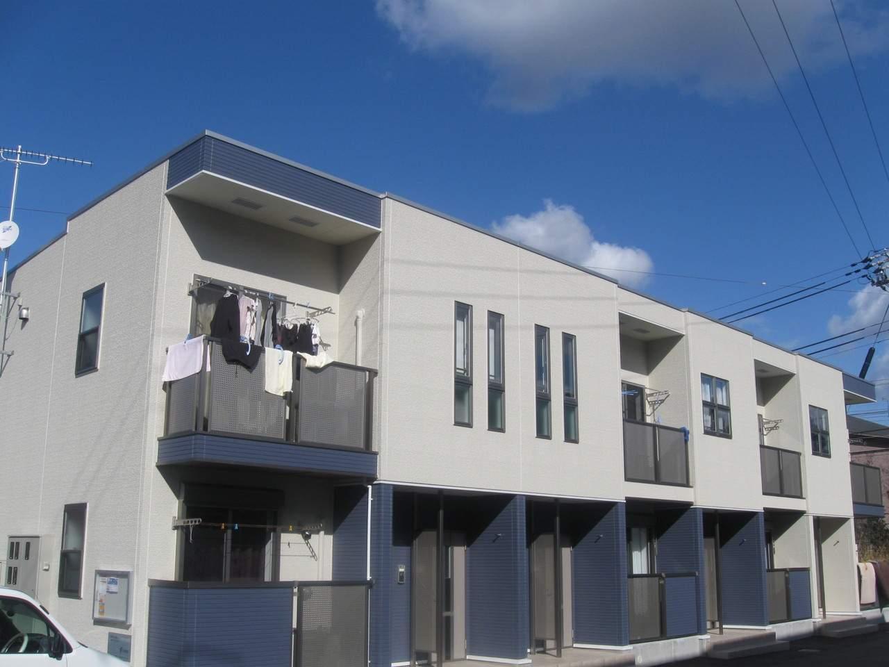 兵庫県三木市、志染駅徒歩2分の築8年 2階建の賃貸アパート