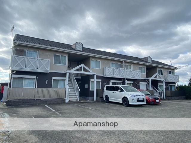 兵庫県三木市、広野ゴルフ場前駅徒歩17分の築29年 2階建の賃貸アパート